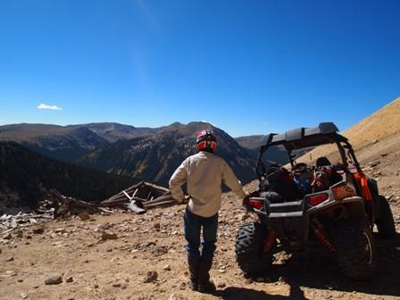 Colorado hill climb rzr
