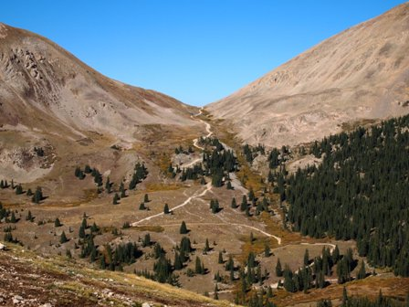 hancock pass switchbacks, most scenic switchbacks in Colorado