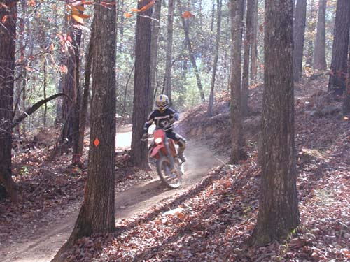 Kentuck dirtbike trail