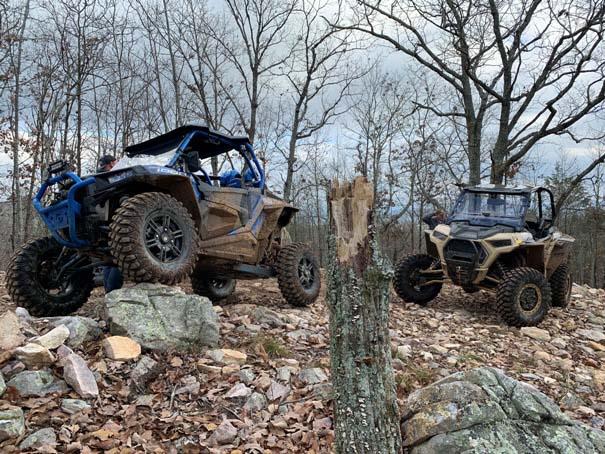 Alabama mud trails