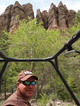 Utah hoodoos dirt bikes