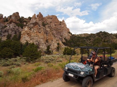 Sanford Canyon ATV Trail