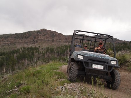 Mount Dutton ATV Utah