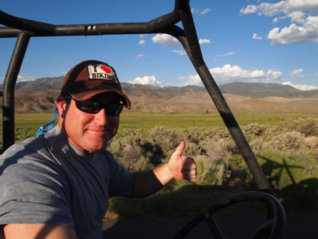 Dirt bike paiute atv trail