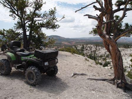 ATVing and UTVing bryce canyon