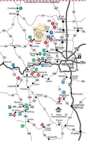 Central Colorado UTV Trails