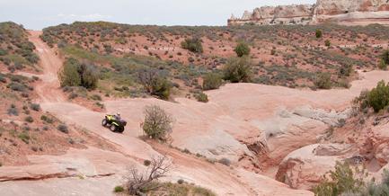Dome Plateau Trail