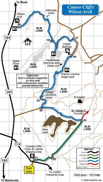 Moab Maps