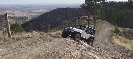 Lefthand OHV Area