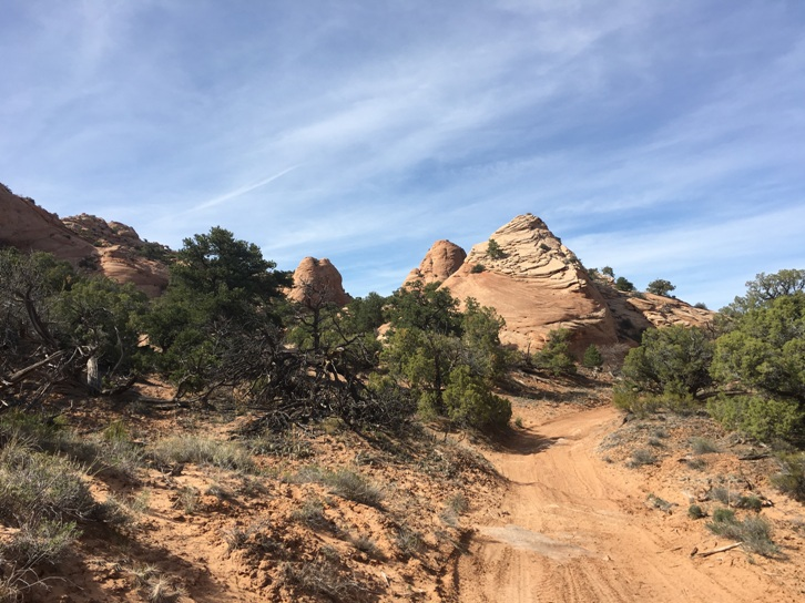 Picture Frame Arch Trail