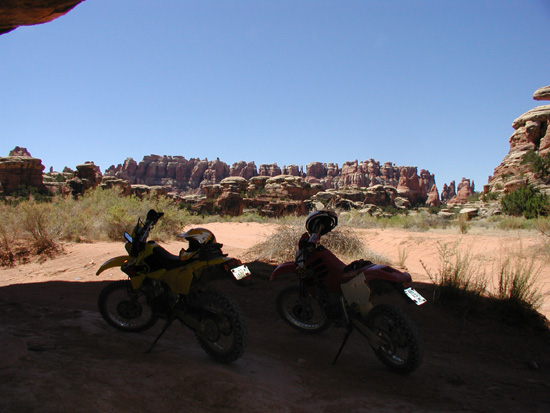 What is the best off road trail in Canyonlands National Park