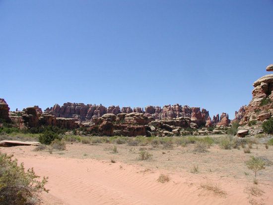 Are there off road trails in the Needles District of Canyonlands National Park