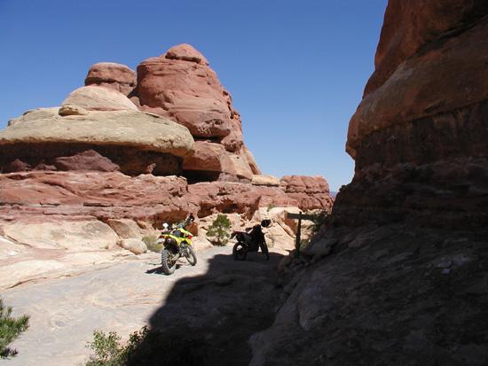 Silver Stairs Trail Moab Utah