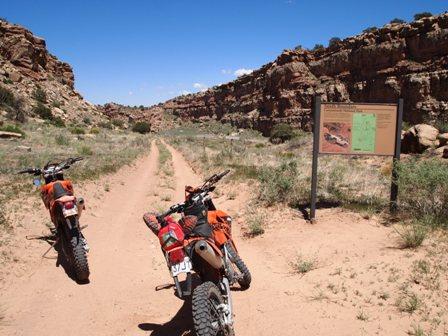 Canyonlands National Park dual sport