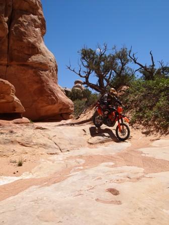 Utah dirtbike trails