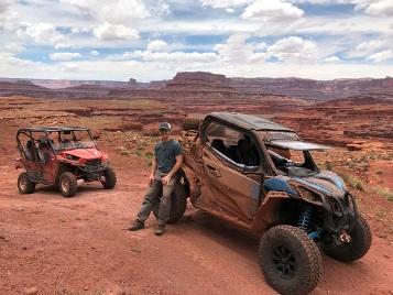 Moab, Utah ATV and Dirtbike trails