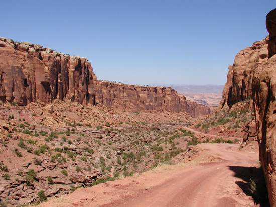 Long Canyon Trail Moab Utah