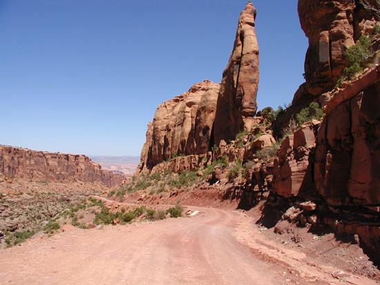 Long Canyon Jeep Road Moab