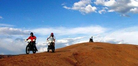 Dirt bike moab