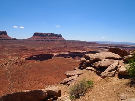 Can I ride my side by side in canyonland national park