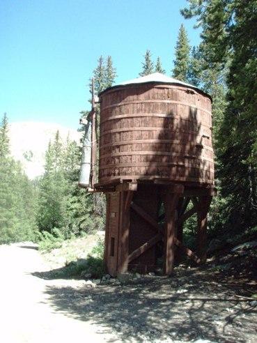 Colorado Restored Railroad Tank