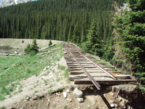 sherrod loop Colorado Railroad history