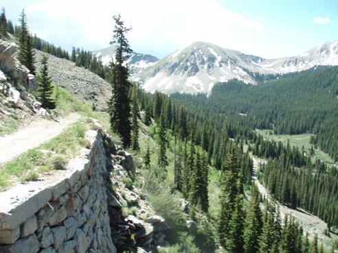 the palisades at colorado's alpine tunnel