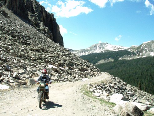 palisades dirtbike trail colorado