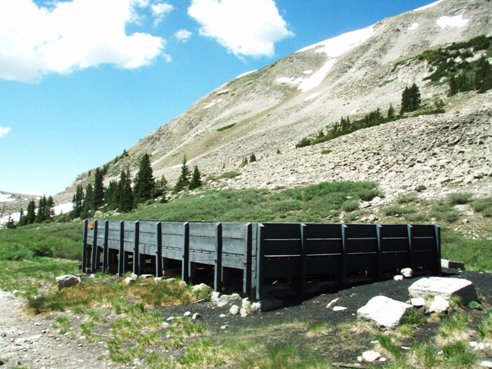 alpine tunnel coal bunker