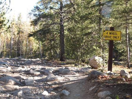 Taylor Pass Trail Colorado