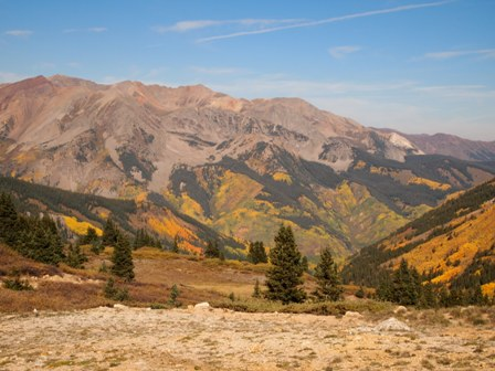Rocky Mountain fall colors from our ATV