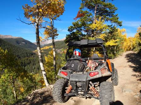 Polaris RZR Taylor Pass Colorado
