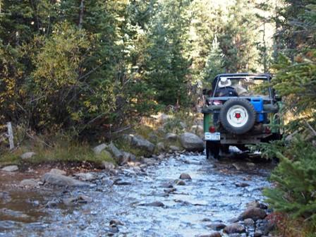 Taylor Pass Jeep Road, Colorado