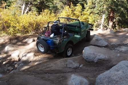 RZR versus Jeep on Taylor Pass Colorado
