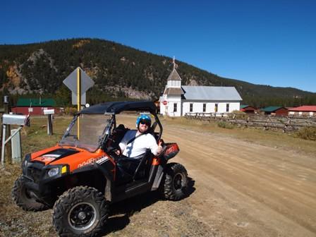 UTV Trails in Tincup Colorado