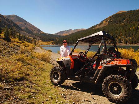 Polaris RZR trails, Tincup Colorado