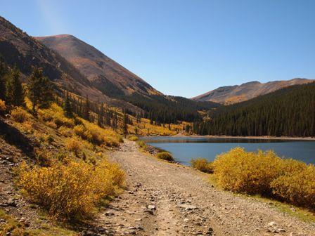 Fall Colors at Mirror Lake Colorado