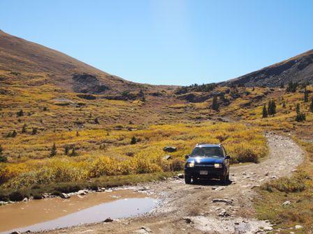 4x4 roads near tin cup colorado
