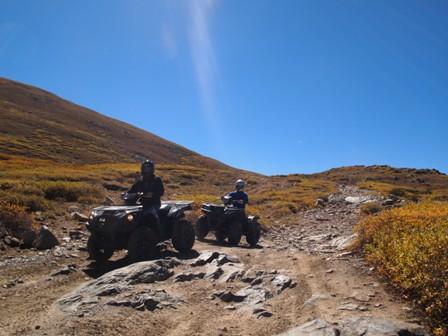Tincup Pass ATV and UTV trails