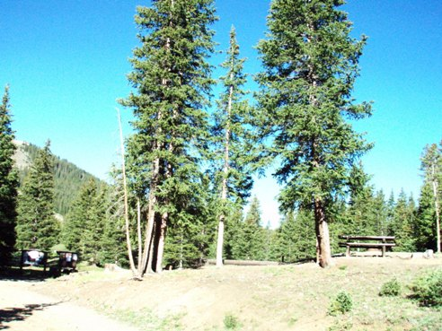Mirror Lake Campground at Tincup Pass