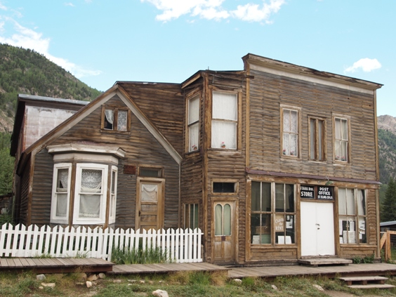 St Elmo Ghost Town best preserved town in colorado