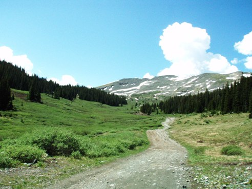 Tincup Pass Jeep Road