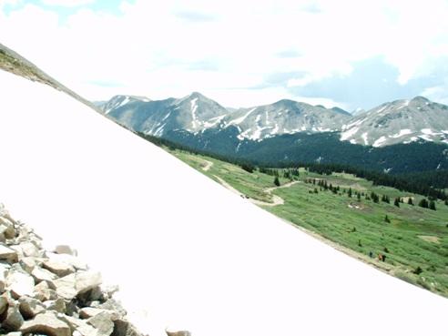 Taylor Reservoir via tincup pass
