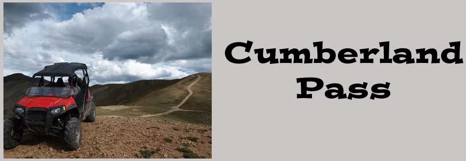 Cumberland Pass UTV Trail