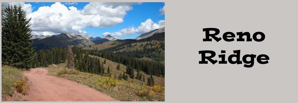 Reno Ridge Colorado UTV Trail