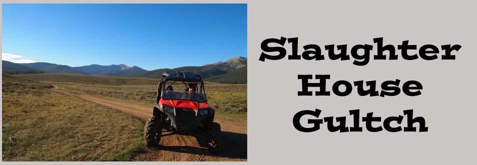 Slaughter House Gulch Colorado UTV Trail