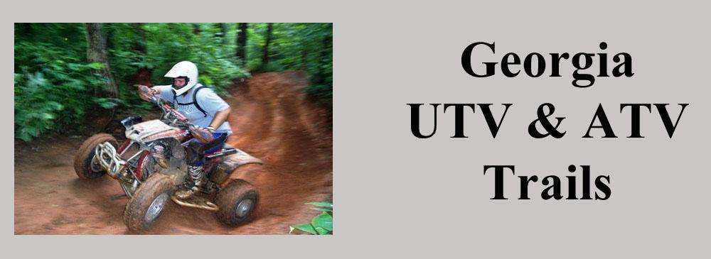 Georgia ATV and UTV Trails