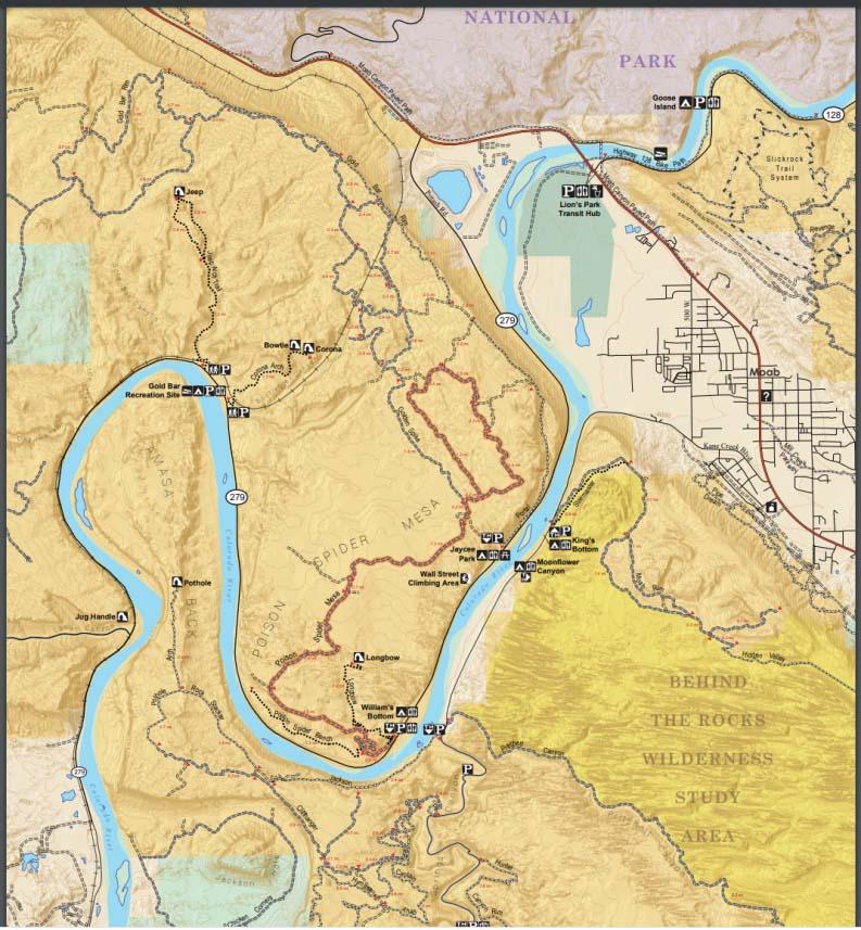 Free Golden Spike UTV Trail Map