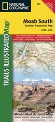 UTV Map for Southern Moab