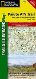 Paiute ATV and UTV Trail Map